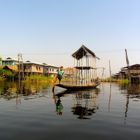 Floating Villages on Inle Lake